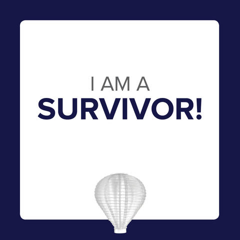 Social Media Icon - I am a Survivor Post 2