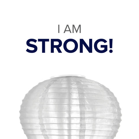 Social Media Icon - I Am Strong Post 1