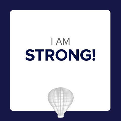 Social Media Icon - I Am Strong Post 2